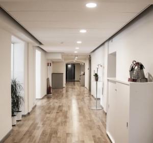 Akustiktak, Ecophon Focus Dg, i korridor